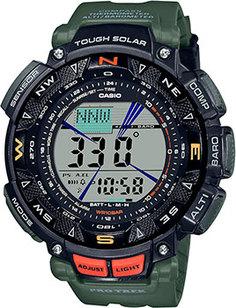 Японские наручные мужские часы Casio PRG-240-3ER. Коллекция Pro-Trek