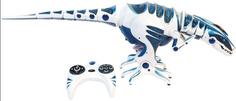 Интерактивная игрушка робот WowWee Roboraptor Blue (8017)