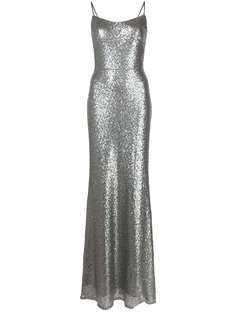 Marchesa Notte Bridesmaids вечернее платье с пайетками