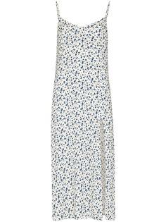 Reformation платье миди Crimini с цветочным принтом