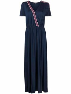 LIU JO платье асимметричного кроя с логотипом