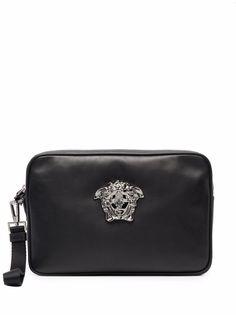Versace клатч с декором Medusa