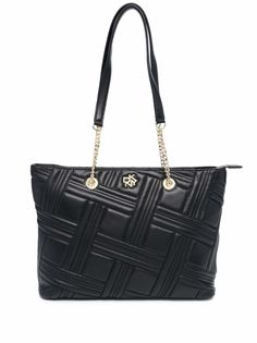 DKNY стеганая сумка-тоут Alice
