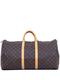 Louis Vuitton дорожная сумка 1990-х годов с монограммой
