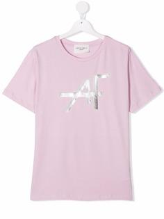 Alberta Ferretti Kids футболка с логотипом