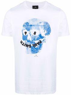PS Paul Smith футболка с графичным принтом