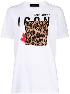 Dsquared2 футболка с логотипом