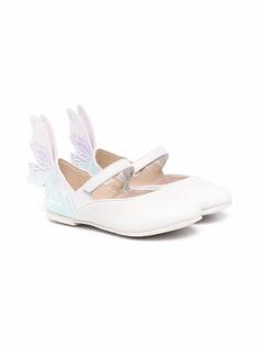 Sophia Webster Mini декорированные балетки