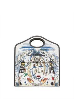 Burberry сумка Pocket среднего размера с принтом