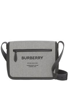 Burberry сумка-мессенджер с принтом Horseferry