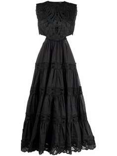ZIMMERMANN платье без рукавов с вырезами