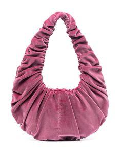 Nanushka бархатная сумка на плечо