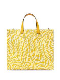 Fendi сумка-шопер с монограммой