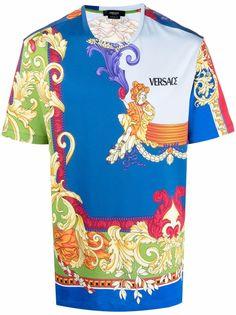 Versace футболка с принтом Medusa Renaissance