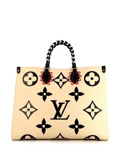 Louis Vuitton большая сумка-тоут On The Go 2020-го года
