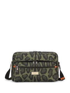 Dolce & Gabbana сумка на плечо с леопардовым принтом