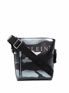 Philipp Plein сумка-мессенджер с камуфляжным принтом