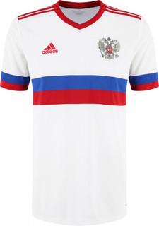 Гостевая футболка сборной России мужская, adidas, размер 48-50
