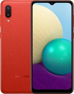 Мобильный телефон Samsung Galaxy A02 32GB (красный)