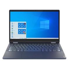 "Ноутбук-трансформер LENOVO Yoga 6 13ARE05, 13.3"", IPS, AMD Ryzen 5 4500U 2.3ГГц, 8ГБ, 256ГБ SSD, AMD Radeon , Windows 10, 82FN003NRU, синий"