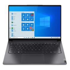 "Ультрабук LENOVO Yoga S7 Pro 14IHU5, 14"", IPS, Intel Core i5 11300H 2.6ГГц, 8ГБ, 256ГБ SSD, Intel Iris Xe graphics , Windows 10, 82NC0015RU, серый"