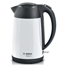Чайник электрический Bosch TWK3P421, 2400Вт, белый и черный