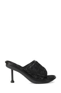 Черные мюли Home Sandal Balenciaga