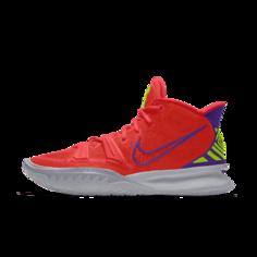 Баскетбольные кроссовки с индивидуальным дизайном Kyrie 7 By You - Оранжевый Nike