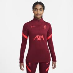 Женская футболка для футбольного тренинга Liverpool FC Strike - Красный Nike