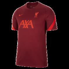Мужская игровая футболка с коротким рукавом Liverpool FC Strike - Красный Nike