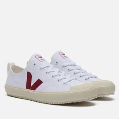 Мужские кроссовки VEJA Nova Canvas, цвет белый, размер 42 EU