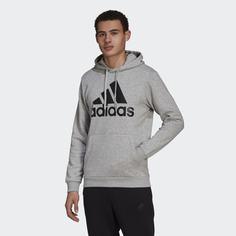Флисовая худи Essentials Big Logo adidas Sportswear