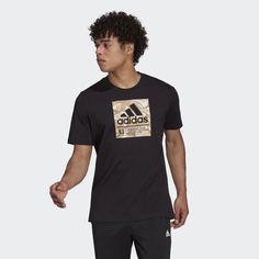 Футболка adidas Camo Box Graphic