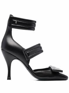 Patrizia Pepe туфли с дутыми ремешками