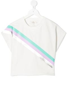 Andorine укороченная футболка в полоску