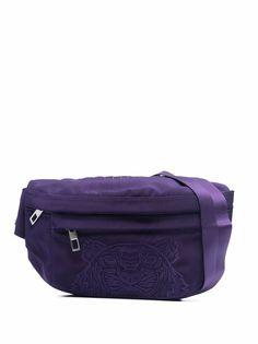 Kenzo поясная сумка с вышивкой