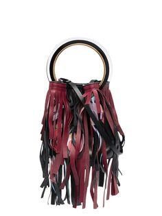 Marni сумка-ведро с бахромой