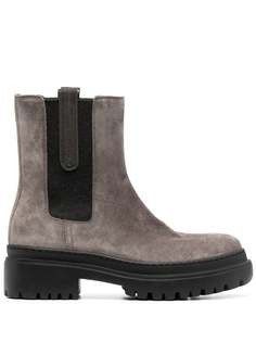 Brunello Cucinelli ботинки челси на платформе