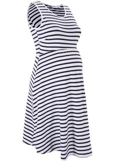 Платье для беременных, дизайн в полоску Bonprix
