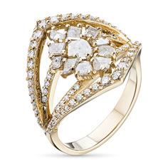 Кольцо из золота с бриллиантами э0345кц11200397 ЭПЛ Якутские Бриллианты
