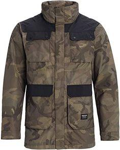 Куртка Burton 19-20 M Falldrop Jk Worn Camo - XL