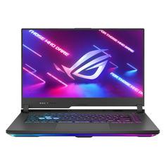 "Ноутбук ASUS ROG G513QE-HN051T, 15.6"", IPS, AMD Ryzen 7 5800H 3.2ГГц, 16ГБ, 512ГБ SSD, NVIDIA GeForce RTX 3050 Ti для ноутбуков - 4096 Мб, Windows 10, 90NR05I2-M02640, серый"