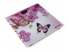 Весы напольные Delta D-9235/1 Бабочки в цветах Дельта