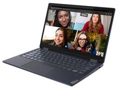 Ноутбук Lenovo Yoga 6 13ARE05 Blue 82FN003NRU (AMD Ryzen 5 4500U 2.3 GHz/8192Mb/256Gb SSD/AMD Radeon Graphics/Wi-Fi/Bluetooth/Cam/13.3/1920x1080/Windows 10)