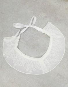 Подвязки белого и розового цвета Lindex Ella M Nicole-Белый