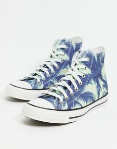 Кроссовки с принтом с пальмами Converse Chuck Taylor All Star-Многоцветный