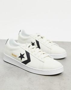 Белые кроссовки Converse Pro Ox Court Daze-Белый