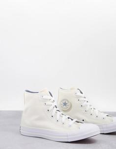 Кроссовки кремового цвета Converse Chuck Taylor-Белый