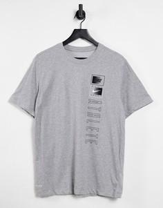 Серая футболка Nike Dri-FIT-Серый