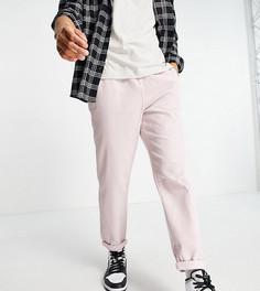 Розовые вельветовые джоггеры в утилитарном стиле New Look-Розовый цвет